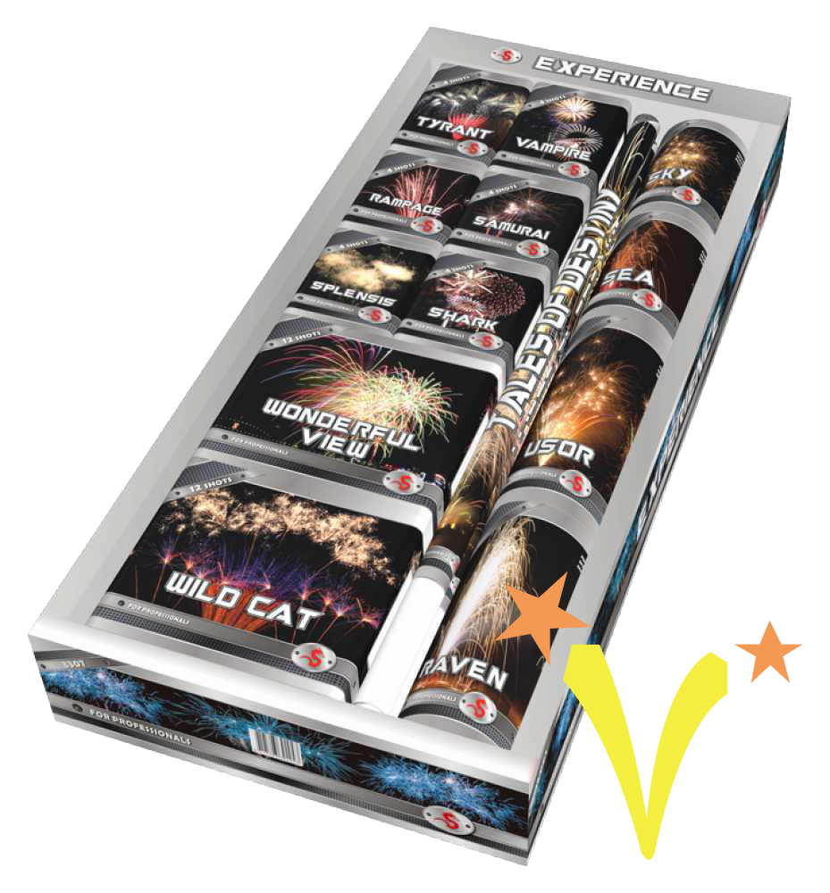 Experience Box Red Dragon Fireworks