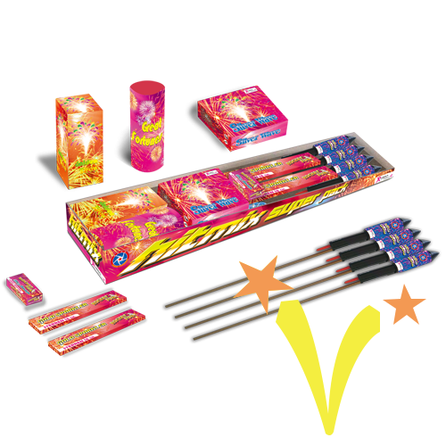 Hit Mix Super Pack Rubro Fireworks