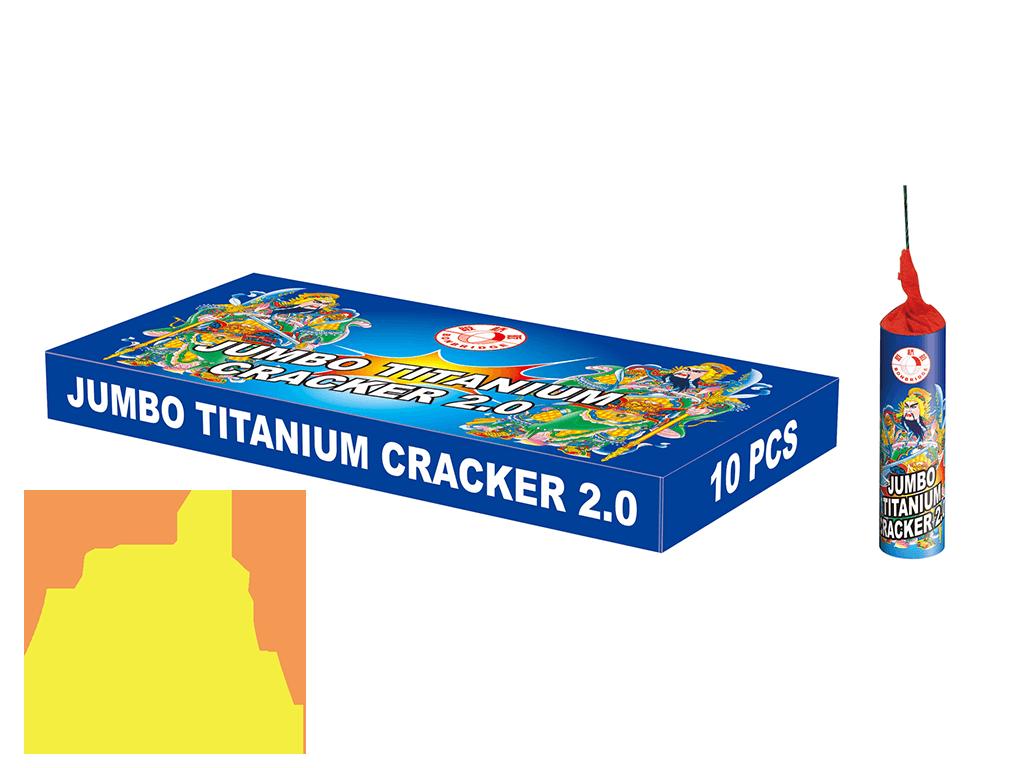 Jumbo Titanium Cracker 2.0 Nitraten Bonbridge