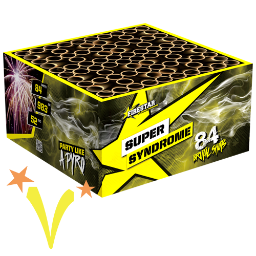 Super Syndrome Box 84 Shots Geisha Fireworks