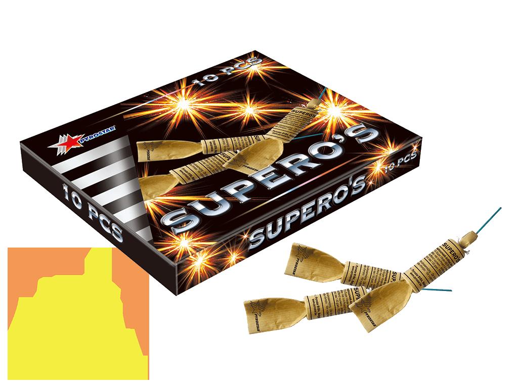 Supero's Spaanse Vlinders Pyrostar