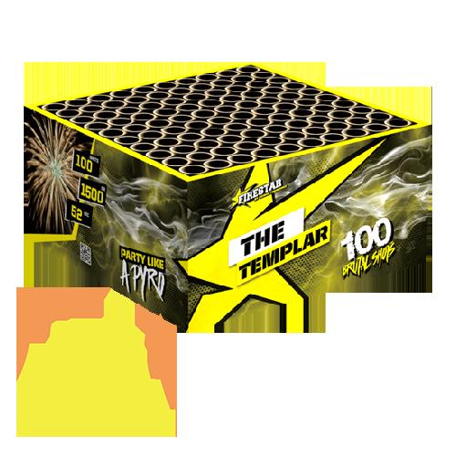 The Templar Box 100 Shots Geisha Fireworks