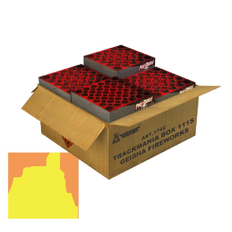 Trackmania Box 111 Shots Geisha Fireworks