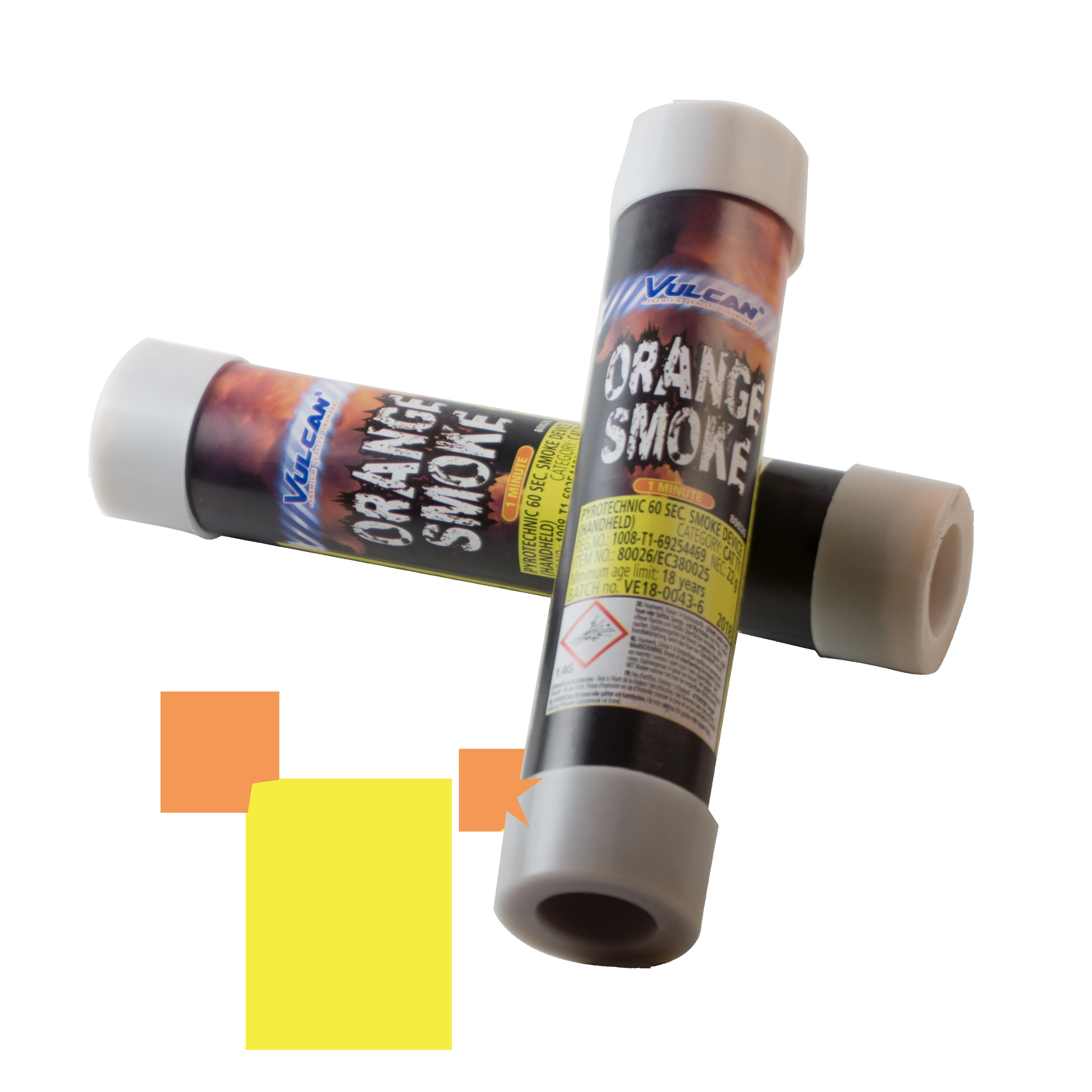 Smoke Device Orange – 60 sec Vulcan Collection