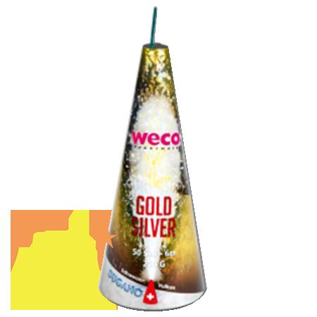 Weco Bugano Fontein Gold & Silver