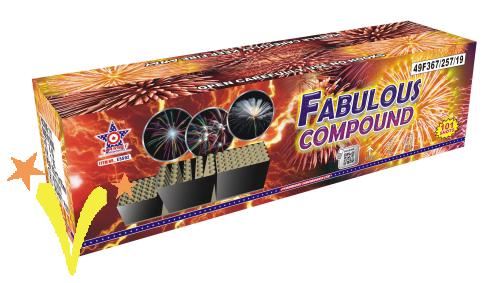 Fabulous 101 Shots Dewico Fireworks TOPPER voor 2020