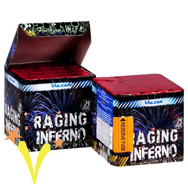 Raging Inferno 25 Shots Vulcan
