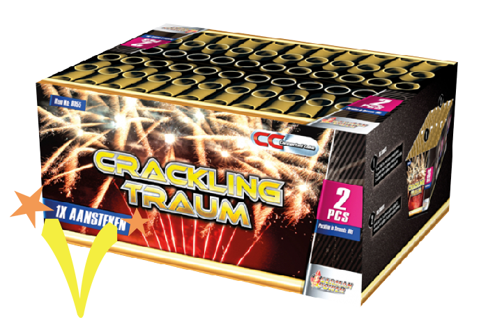 Crackling Traum 72 Shots German Power Fireworks