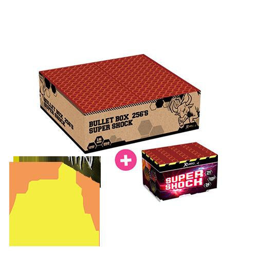 Bullet Box Compound 256 Shots Rubro NEW 2022