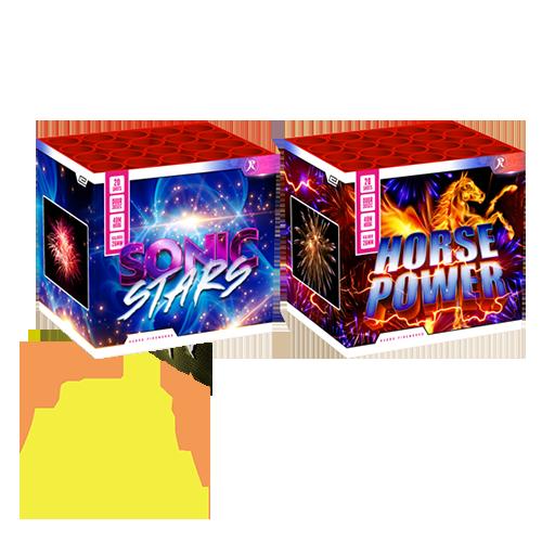 Sonic Stars – Horse Power 2 x 20 Shots Rubro NEW 2021